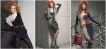 Obcisłe sukienki na jesień z kolekcji Gatta Bodywear